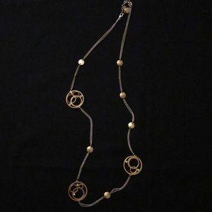 Brighton long asymmetrical necklace